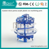 Cheap Machined PMMA Part Custom Made Clear Acrylic Front Panels For Electronics wholesale