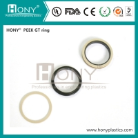 Buy cheap Flat Wear Heat Resistance PEEK Sealing Ring PEEK GT Ring from wholesalers