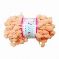 Buy cheap Fancy Yarn for Hand Knitting and Weaving, Made of 100% Polyester from wholesalers