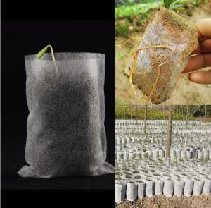 Cheap Horticulture Biodegradable Garden Bags Hydroponics Soil Planter Nursery Pots wholesale