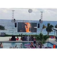 Cheap P6 Renting Style Die Casting Cabinet LED Outdoor Screen for Wedding wholesale
