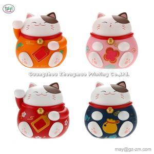 China Lucky Cat Car Perfume Car Air Conditioner Outlet Perfume Cartoon Cute Creative Car Fragrance Decoration on sale