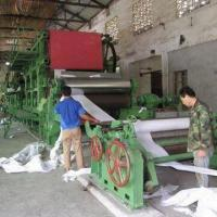 China Corrugated Paper Making Machine with Waste Paper Raw Material and 150-ton/Day Capacity on sale