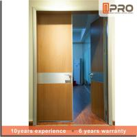 Cheap Break Resistance MDF Interior Doors Eco Friendly With Handles And Hinge wholesale