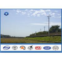Cheap Low Voltage Single Circult Electric Steel Power Pole with Hot Dip Galvanization wholesale