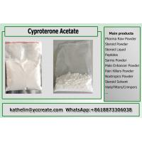 Anti-Androgen Steroid Powder Cyproterone Acetate / CPA / Cyprostat Hormone Therapy CAS 427-51-0