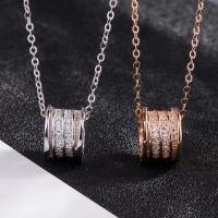 Buy cheap 925 Sterling Silver Pave CZ Pendant Necklace Bvlgari Inspired Jewelry from wholesalers