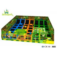 Buy cheap Professional Jumping Indoor Trampoline Park With Safety Net Foam Pit from wholesalers
