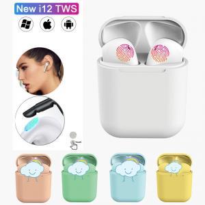 Cheap Inpods I12 Tws Bluetooth Smart Bracelet Earphone Headset Noise Cancelling Waterproof wholesale