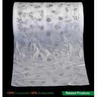 Cheap Film Biodegradable Compost Bags , Biodegradable Packaging Bags For Baby Breathable Back Sheet wholesale