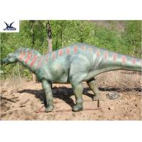 Cheap Customizable Realistic Dinosaur Statues For Water Park / Science Center / Museum Exhibits wholesale