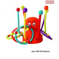 Cheap Custom New Kid Play Throw Ring Octopus Toys Interactive Educational Toys wholesale