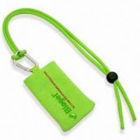 Cheap Handy Mobile Phone Sock Lanyard with Printed Logo, Polyester Blank Rope and Mobile Handy Sock wholesale