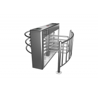 Cheap 120 Degree Rotor 30W 30person/min Waist Height Turnstile 0.2S wholesale