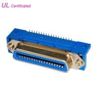 Cheap Centronic DDK 14 24 36 50 Pin Female PCB Right Angle Connector wholesale