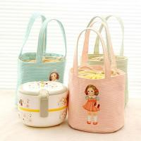 Cheap Cartoon Character Kids Insulated Lunch Bag190T With Aluminum / Pearl Form Inner wholesale