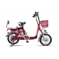 Buy cheap Lady , Students Lithium Bicycle Small Electric Bikes With Removable Battery Box from wholesalers