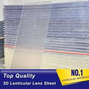 Cheap PLASTIC LENTICULAR motion 3D 30 LPI lenticular sheet PS lenticular lens blank plastic sheets for inkjet printer wholesale