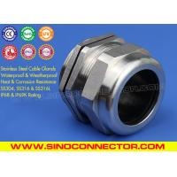 Cheap Watertight Metric Stainless Steel Cable Gland IP69K/IP68 Rating (BS EN 1.4301/1.4401/1.4404) wholesale