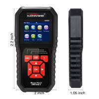 China Universal OBD2 Live Data Scanner Diagnostic Tool 8 Language CE FCC ROHS Approved on sale