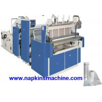 Cheap 3 Layer Toilet Tissue Roll Slitting Rewinding Machine For Paper Making wholesale