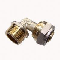 Cheap Brass fittings, elbow male with nickel plating, CE-certified wholesale
