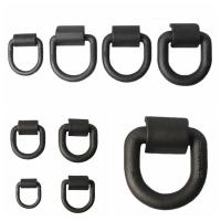 Cheap Customized Safety D Rings Steel Heavy Duty Weld Forged Mounting Buckle wholesale