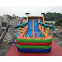 Quality Outdoor Long Inflatable Water Slide Slip N Slide 11x5.5x5.5 Meter for sale