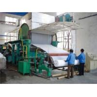 Buy cheap 1092mm Tissue Paper Machine from wholesalers