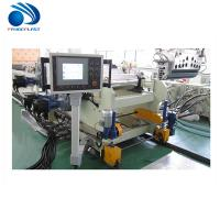 Cheap Acrylic / Plastic Sheet Making Machine Coincal Twin Screw Extruder wholesale