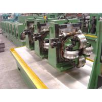 Cheap Round Pipe Steel Bar Making Machine , High Frequency Straight Seam Tube wholesale