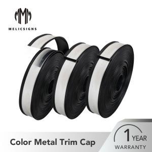 Cheap Weatherproof Black Sign Channel Letter Trim Cap High Strength wholesale