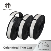 Buy cheap Weatherproof Black Sign Channel Letter Trim Cap High Strength from wholesalers