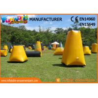 Cheap Durable Inflatable Paintball Games / Air Up Bunkers Customized wholesale