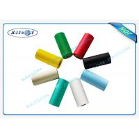 Red / Black PP Spunbond Non Woven Seasame Dot 70gsm ECO - Friendly