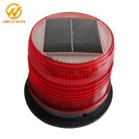 Buy cheap Magnetic Bottom Red Traffic Warning Lights , LED Solar Emergency Warning Light from wholesalers
