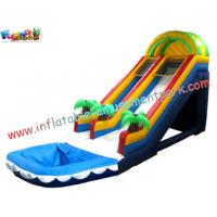 Cheap OEM Commercial Large Outdoor Inflatable Water Slides Fun Games for Kids Outside wholesale