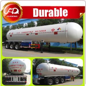 Cheap 3 Axles 59.7cbm LPG Tanker Trailer / LPG Gas Tank Truck Trailer for Sale wholesale