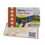 Cheap Offset Printing Hard Plastic Custom Gift Cards 85.5×54mm QR Code CR80 wholesale