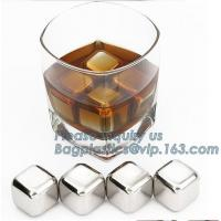 Cheap Whisky Ice Stones Drinks Cooler Cubes Ice Cubes Cheapest Laser Logo wholesale