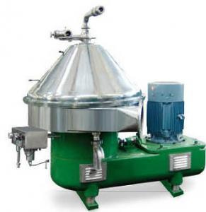 Special Design Milk Cream Centrifugal Separator Machine Used Beer Separator / Clarifier