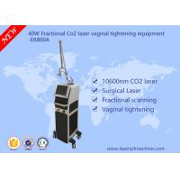 Cheap 40w Co2 Fractional Laser Equipment / Commercial Vaginal Tightening Equipment wholesale