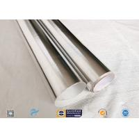 Cheap Good Hermetic Laminated Aluminium Foil Fiberglass Fabric Smooth Surface wholesale