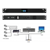 Cheap 1U 500W Line Interactive Ups System With LiFePO4 Battery Pack wholesale