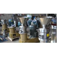 Small Capacity Peanut Butter Grinder Machine For Stainless Steel Drinding Wheel