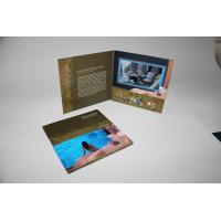 Cheap 4G memory Advertising Video Brochure Card with built - in speker , 10.1inch wholesale