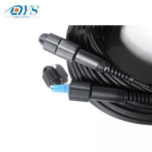 Quality 2 CORE BBU RRU PDLC ODLC outdoor fiber optic patch cord for CPRI / ODVA PDLC for sale
