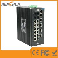 Cheap Unmanaged EIB28-18E-4G Industrial Ethernet Switches 1000Base-X SFP Port wholesale