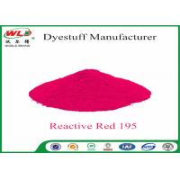 Cheap 100% Strength Textile Reactive Dyes Reactive Red M-2B C I Reactive Red 195 wholesale