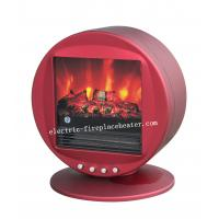 Buy cheap Portable Blue / Red Electric Fireplace Stove Chimney Free Electric Fireplace from wholesalers